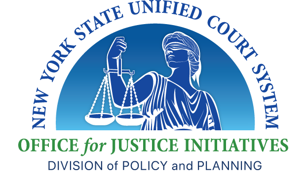 Emblem of The Office of Justice Initiatives of The New York State Unified Court System